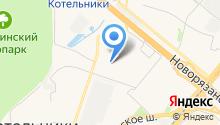 На Кузьминской на карте
