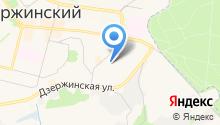 Почтовое отделение №140093 на карте