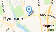 Славянское на карте