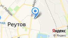 Детский сад №1, Ёлочка на карте