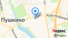 Средняя общеобразовательная школа №9 с углубленным изучением отдельных предметов г. Пушкино на карте