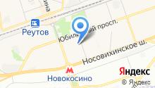 Пятерочка на карте