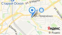 АДАМАНТАН-ОСКОЛ на карте