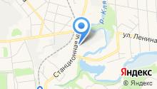 ДеЛаваль на карте