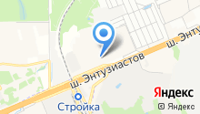Strong на карте