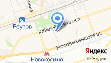 Общественная приемная главы г. Реутов Юров С.Г. на карте