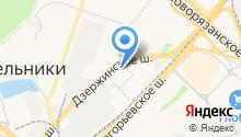 Почтовое отделение №140054 на карте