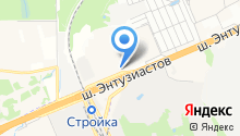 INFINITI на карте
