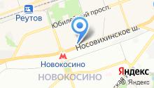 Reutov.ru на карте