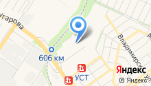 Компания по аренде пассажирского транспорта на карте