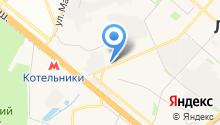 LevService на карте
