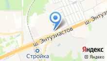 ВЕЛЬБОТ. УЛМ на карте