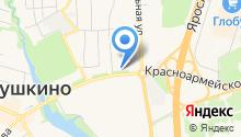 Объединенная дирекция ЖКХ Пушкинского района на карте