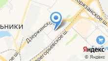 Мособлмедсервис, ГБУ на карте