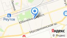 Подмосковные Салюты на карте