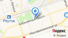 Реутовская городская похоронная служба на карте