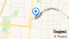 Магазин хозтоваров на ул. Горького на карте