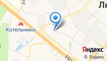 Деловой центр на Смирновской на карте