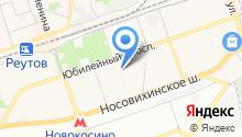Библиотека №1 на карте