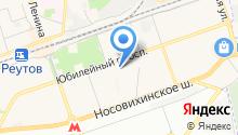 Пион на карте