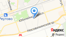 Новокосино на карте