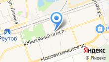 Омега Гарант на карте