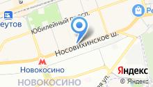 Азрос на карте