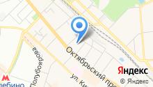 Детский сад №100, Дюймовочка на карте