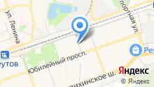 Тайрай на карте