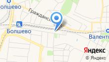 Мемориальный дом-музей М.И. Цветаевой в Болшеве на карте