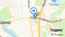 АЗС СТС на карте
