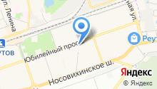 Аква-ал на карте