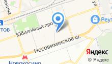 Кефирбатон на карте