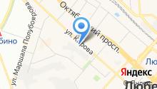 16-й отряд ФПС по Московской области на карте