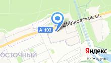 ГЕЛЕОС на карте