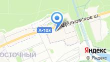 АКМА на карте