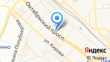 Мастерская по ремонту обуви на Октябрьском проспекте на карте