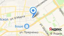 Детский сад №44, Золушка на карте