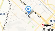Автомойка на ул. Кирова на карте