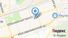 Реутовский городской суд на карте