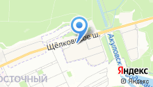 WebIndigo на карте