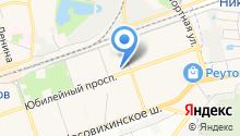 Центрстрой, ГК на карте
