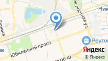 Р-сетевая компания на карте