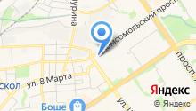 ООО Альянс - системы перегородок на карте
