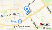 Булкар-Оскол на карте