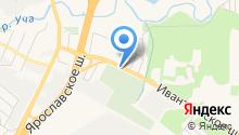 Кавезенское кладбище на карте