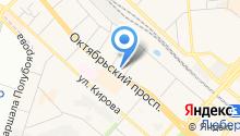 Безе на карте