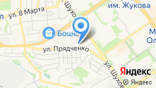 Оскольская Подшипниковая Компания на карте