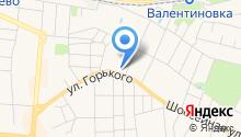 Валентиновка парк на карте