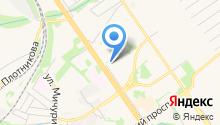 Магазин домашнего текстиля и трикотажа на карте